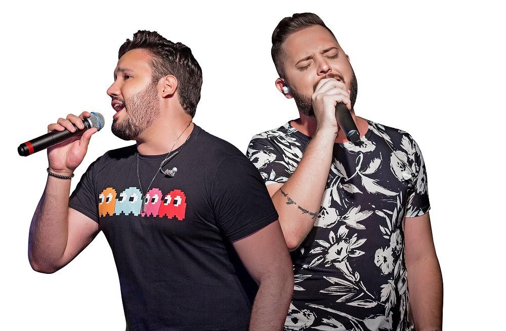 Dupla Giga & Murillo é uma das atrações do palco Vila Sertaneja do RRM